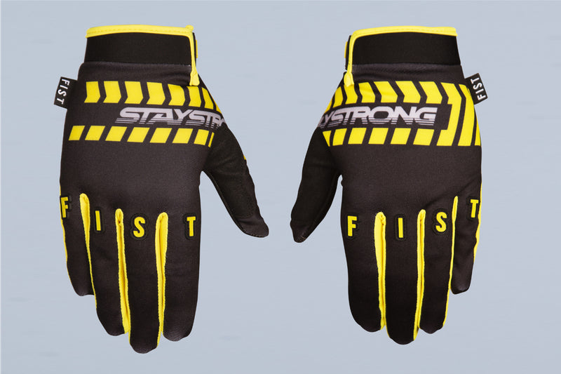 CHEVRON / GLOVES / FIST / ADULT / BLACK
