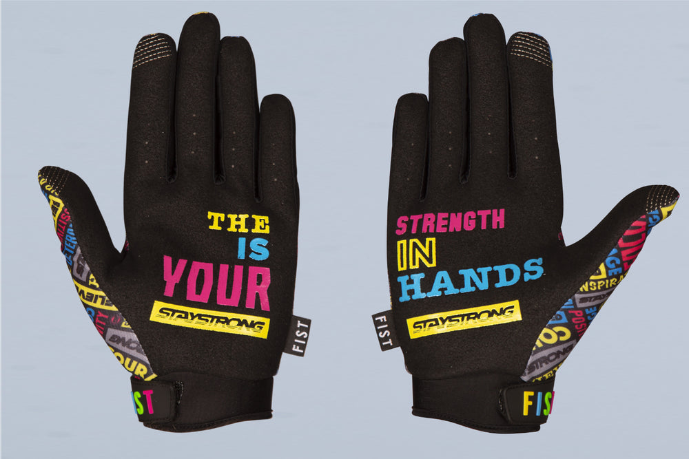 STRENGTH IN YOUR HANDS / GLOVES / FIST / ADULT / MULTI
