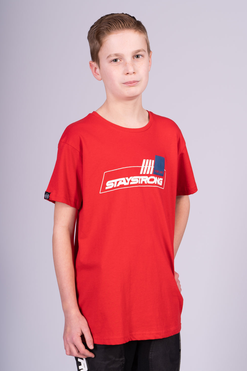 FOR LIFE / TEE / KIDS / RED