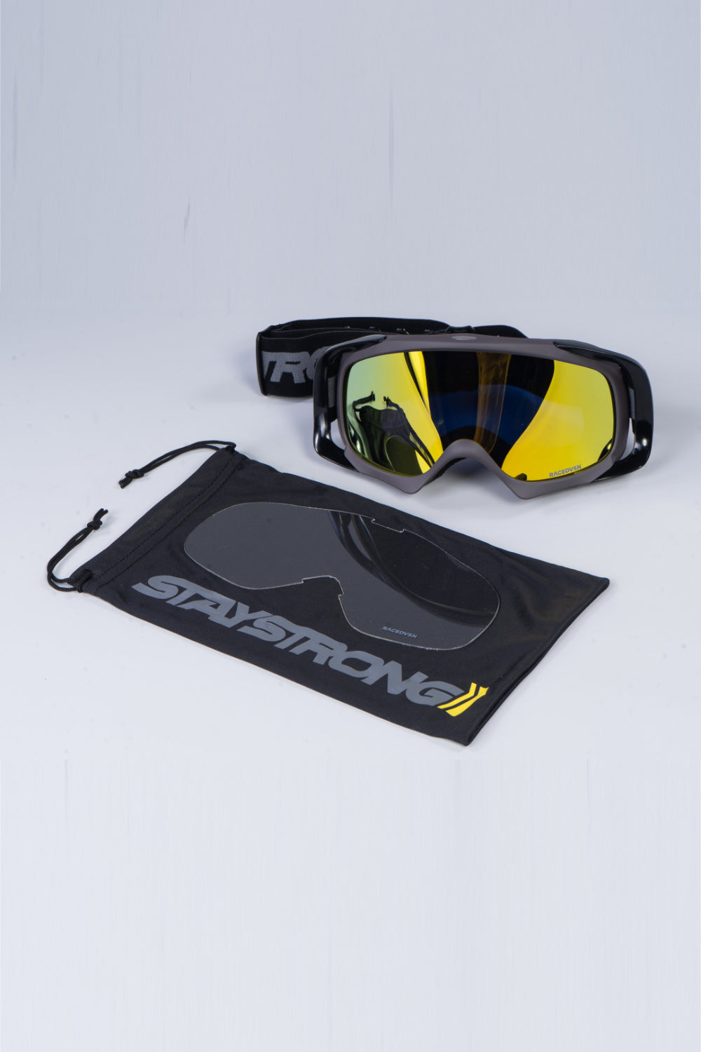 RACE DVSN / GOGGLES / BLACK GREY