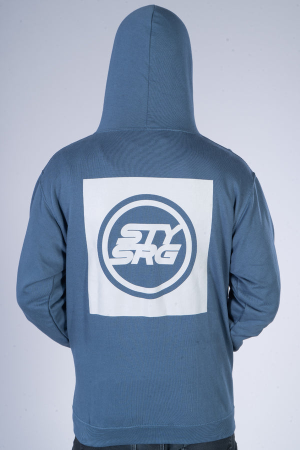 BOX ICON / HOODY / AIRFORCE BLUE