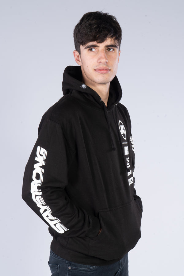 RACE DVSN / HOODY / BLACK