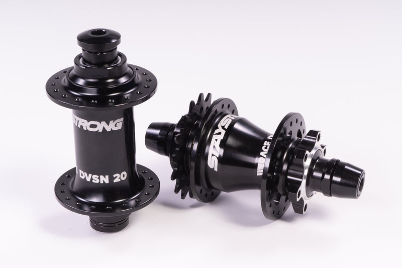 RACE DVSN 20mm DISC HUBSET / PRO 36H / PAIR