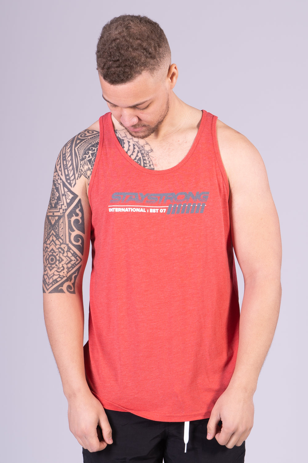 INTERNATIONAL / VEST / RED