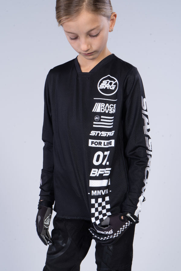 RACE DVSN / RACE JERSEY / KIDS / BLACK