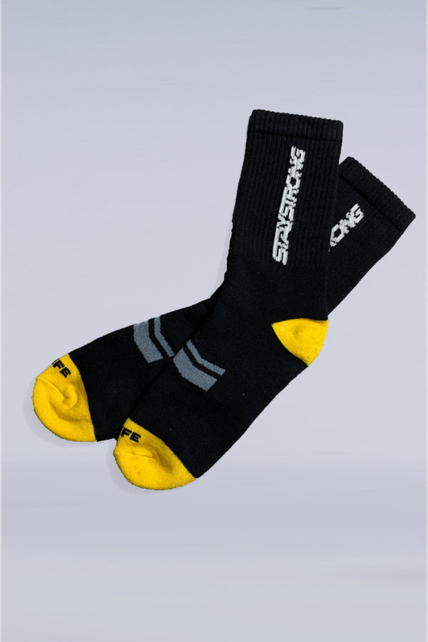 WORD / SOCKS / SINGLE PAIR / BLACK