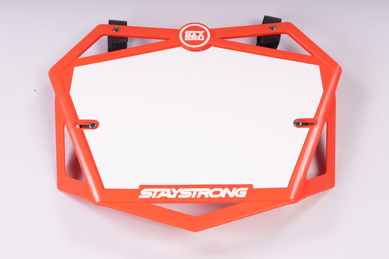 PRIMO 3D / NUMBER PLATE / PRO / RED
