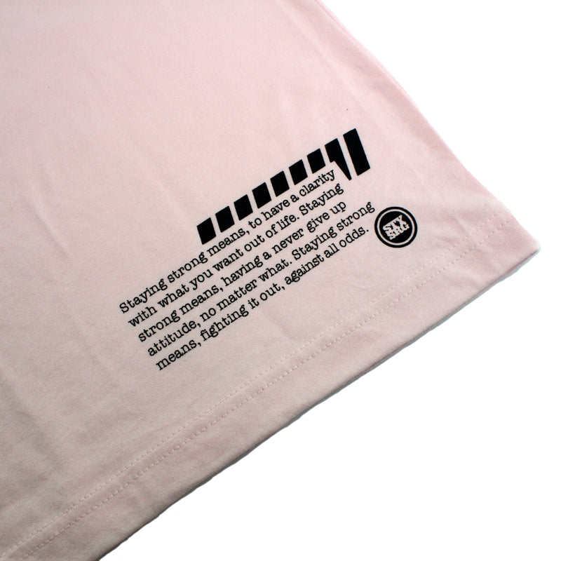 QUOTE / TEE / PINK
