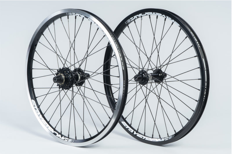 "REACTIV 20 X 1.5"" / WHEELSET / BLACK"