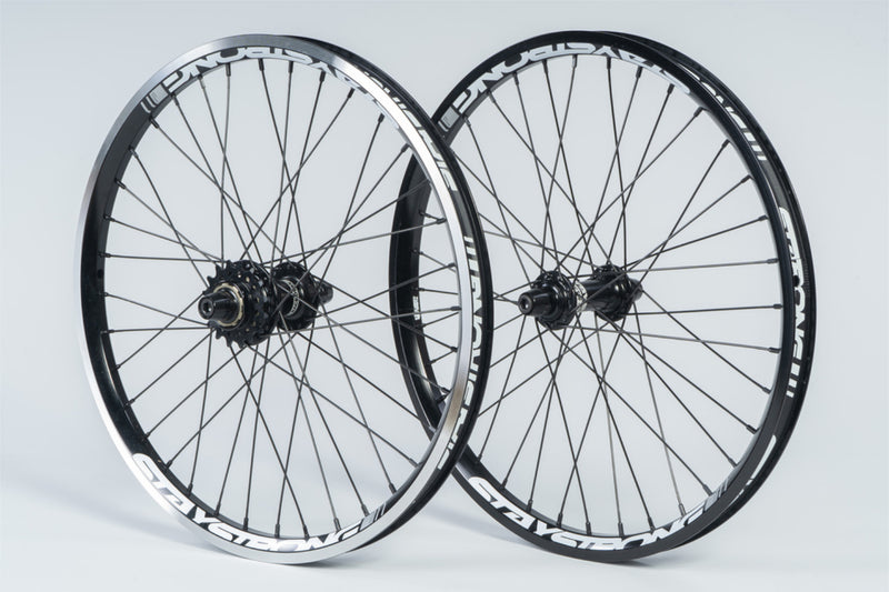 "REACTIV 20 X 1.75"" / WHEELSET / BLACK"