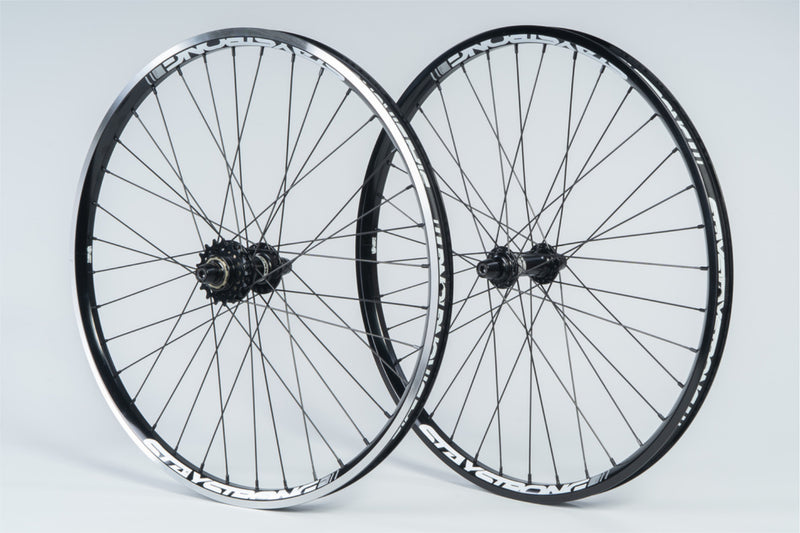 "REACTIV 24 X 1.75"" / WHEELSET / CRUISER / BLACK"