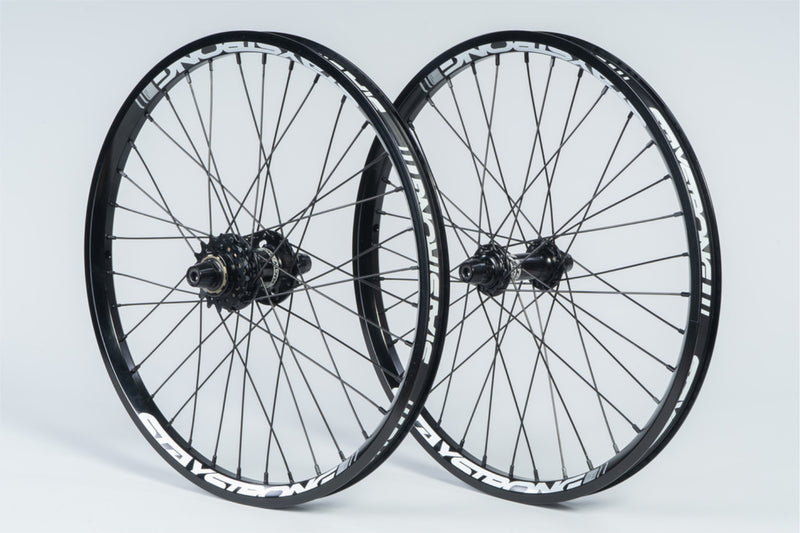 "REACTIV 20 X 1.5"" / DISC / WHEELSET / BLACK"