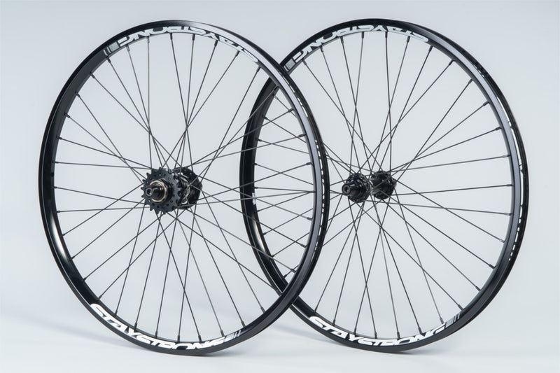 "REACTIV 24 X 1.75"" / DISC / WHEELSET / CRUISER / BLACK"