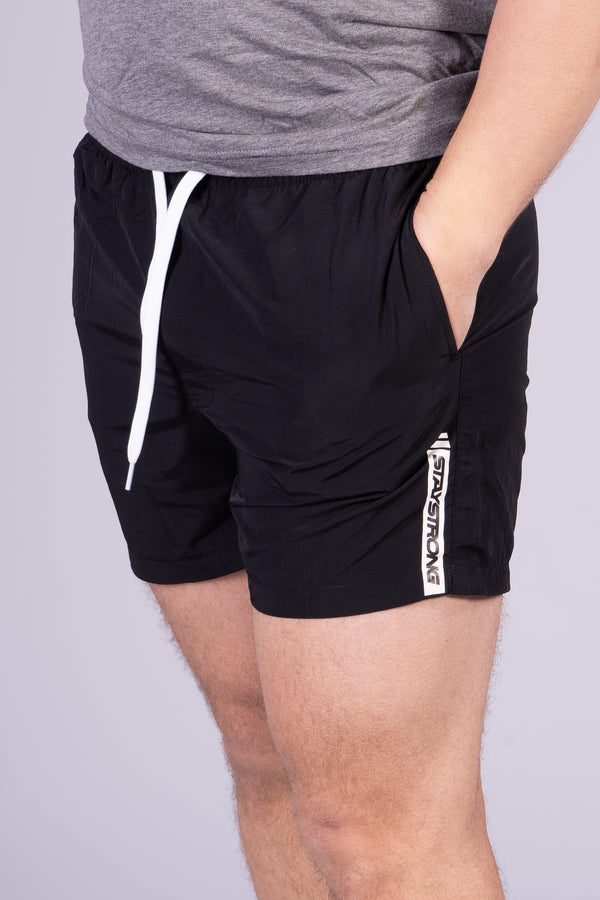 FASTER SWIM / SHORTS / BLACK