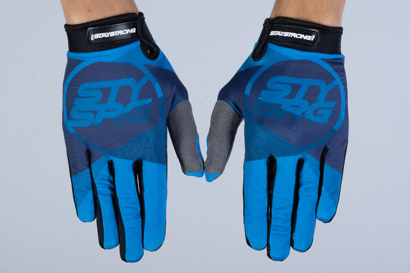 TRICOLOUR / GLOVES / ADULT / BLUE
