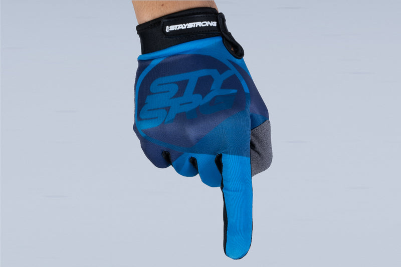TRICOLOUR / GLOVES / YOUTH / BLUE