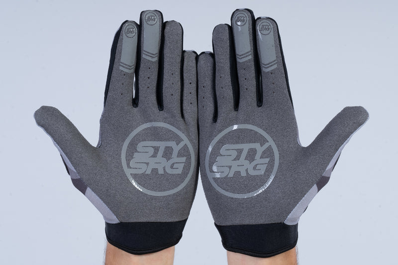 TRICOLOUR / GLOVES / ADULT / GREY