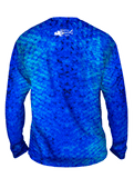 Youth Aqua Scales Long Sleeve - Bones Outfitters