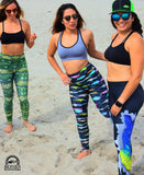 Fish Lure Performance Leggings