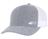 Bones Snap Back Trucker Hat Gray - Bones Outfitters
