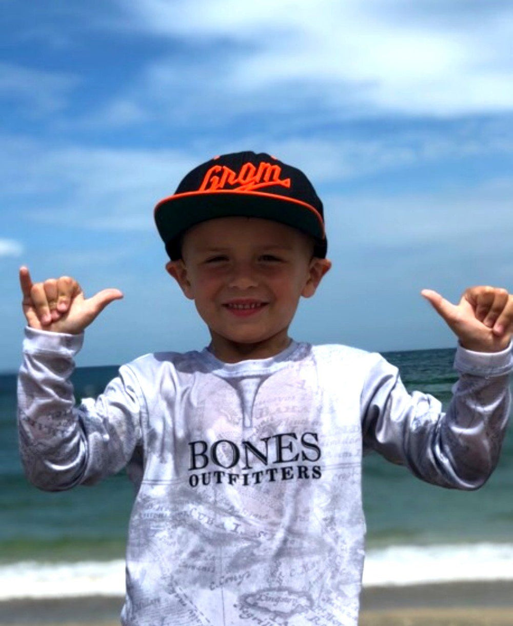 Youth Little Captain Long Sleeve - Bones Outfitters