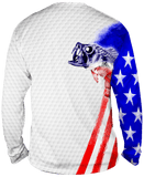 Bass Stars & Stripes Long Sleeve - Bones Outfitters