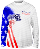 Bass Stars & Stripes Long Sleeve Big & Tall - Bones Outfitters