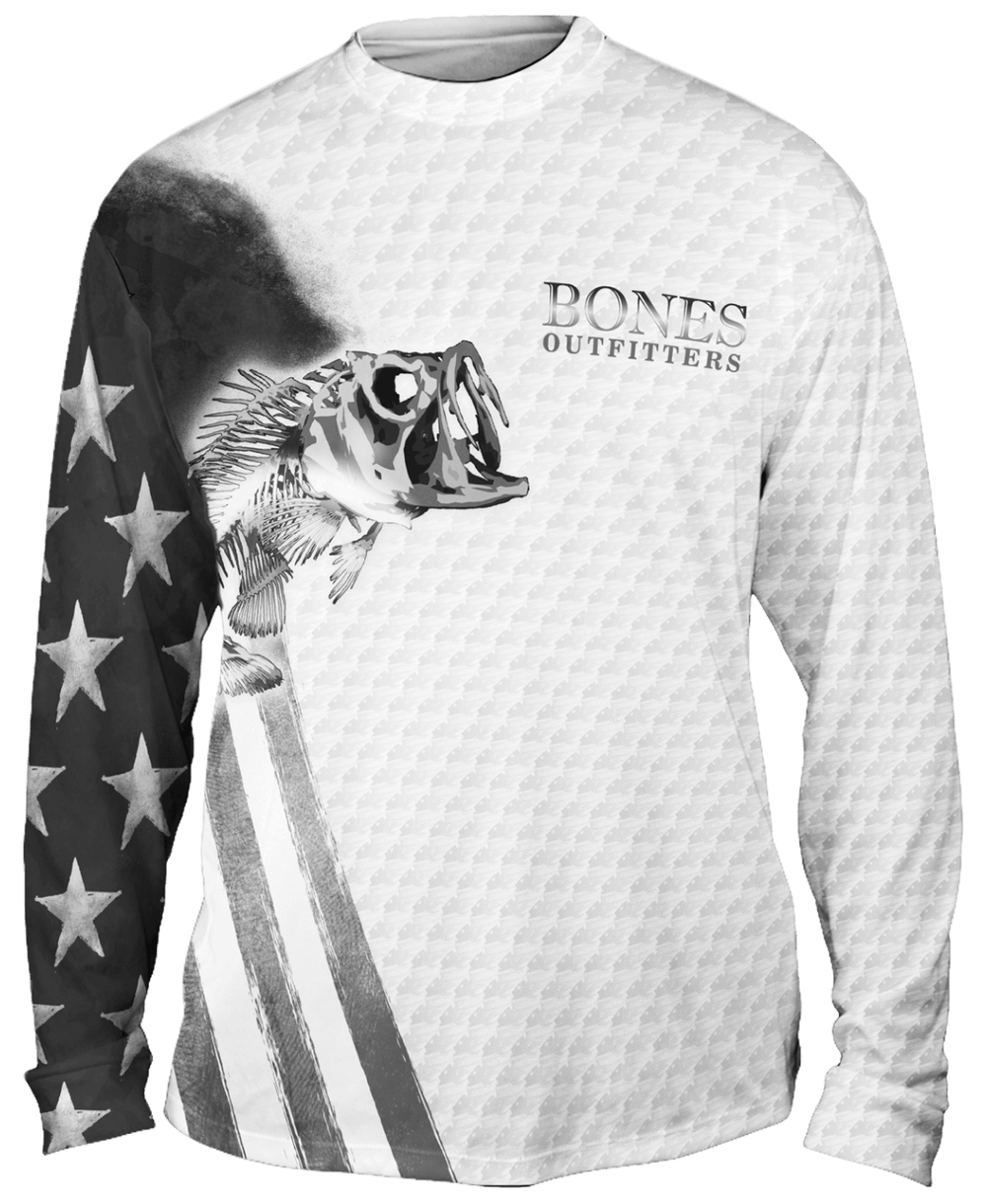 Bass Stars & Stripes Long Sleeve Big & Tall