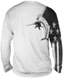 Billfish Stars & Stripes Long Sleeve Big & Tall - Bones Outfitters