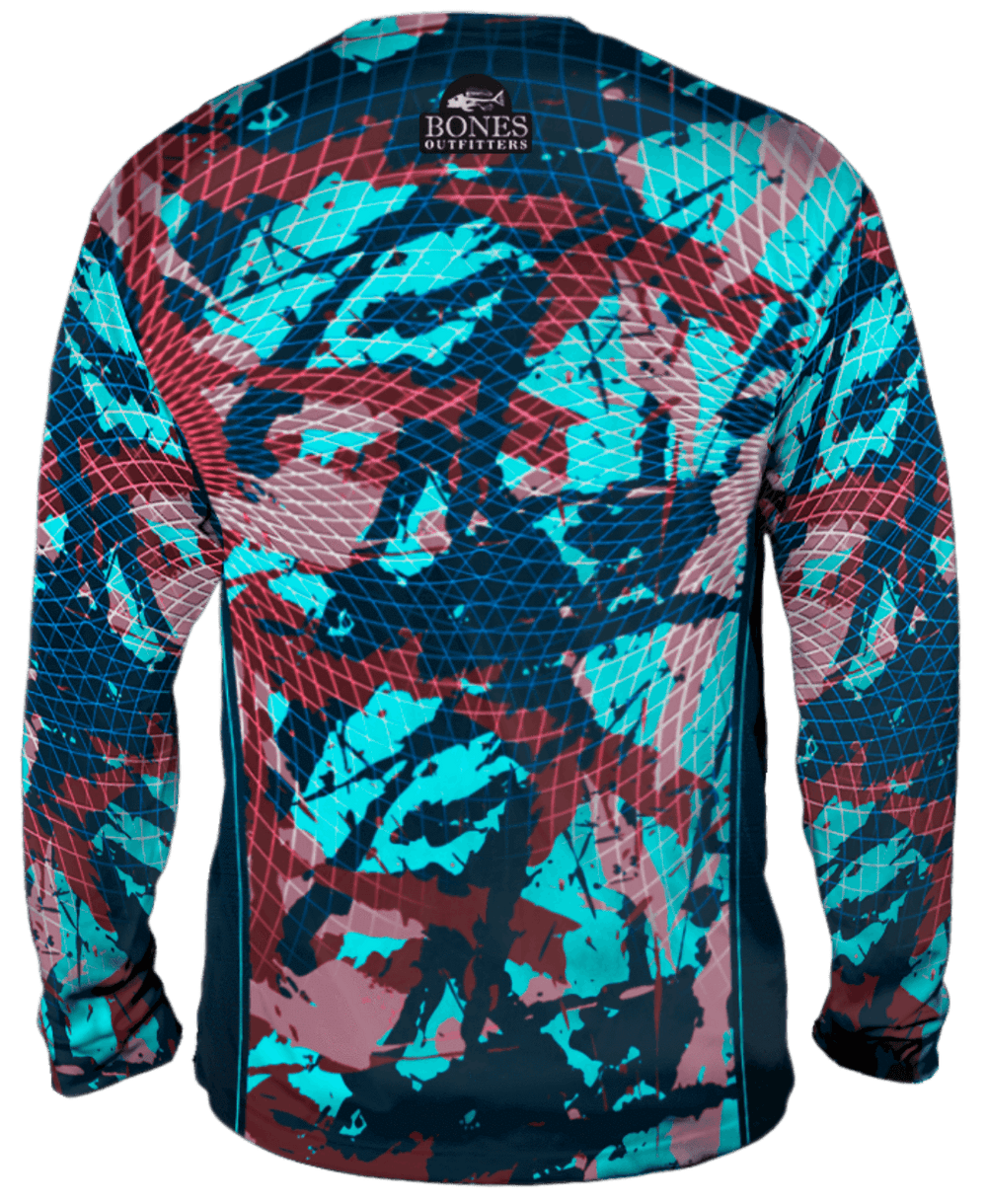 Bold Bones Camo Long Sleeve Big & Tall
