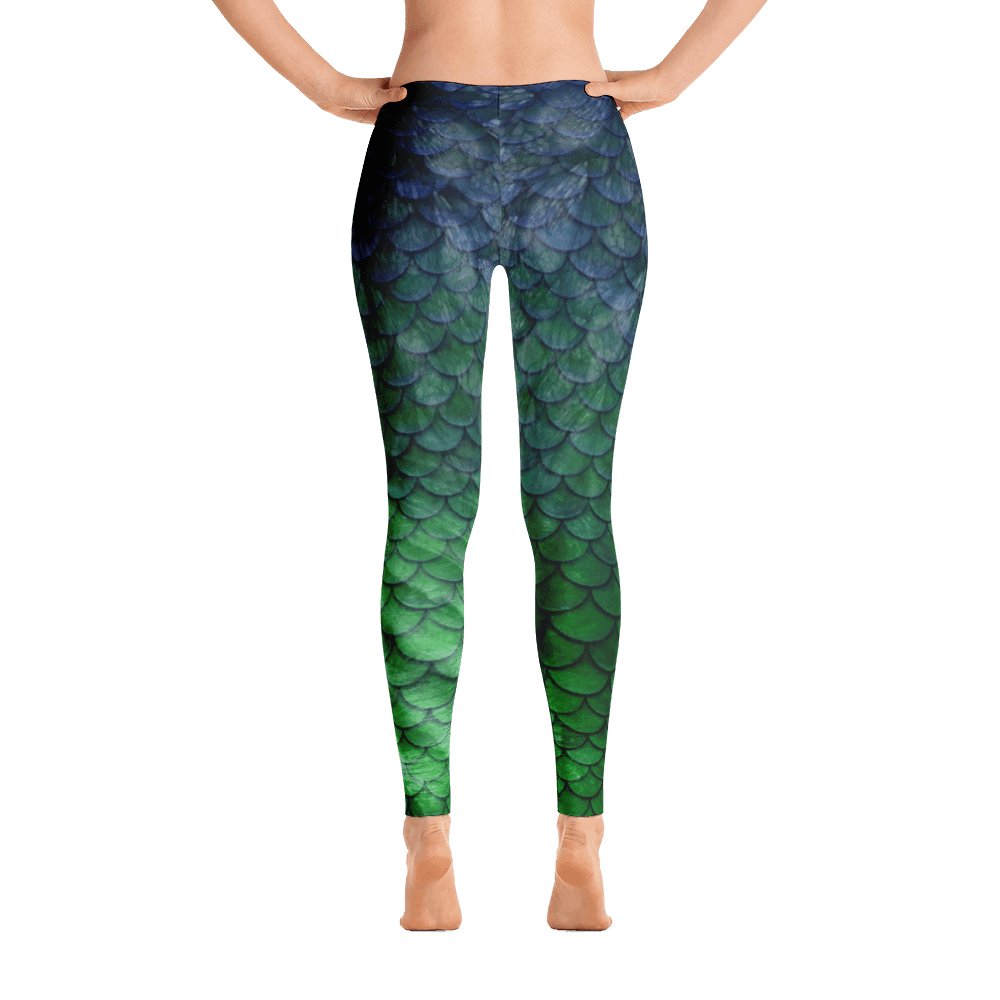 Mermaid Performance Leggings - Bones Outfitters