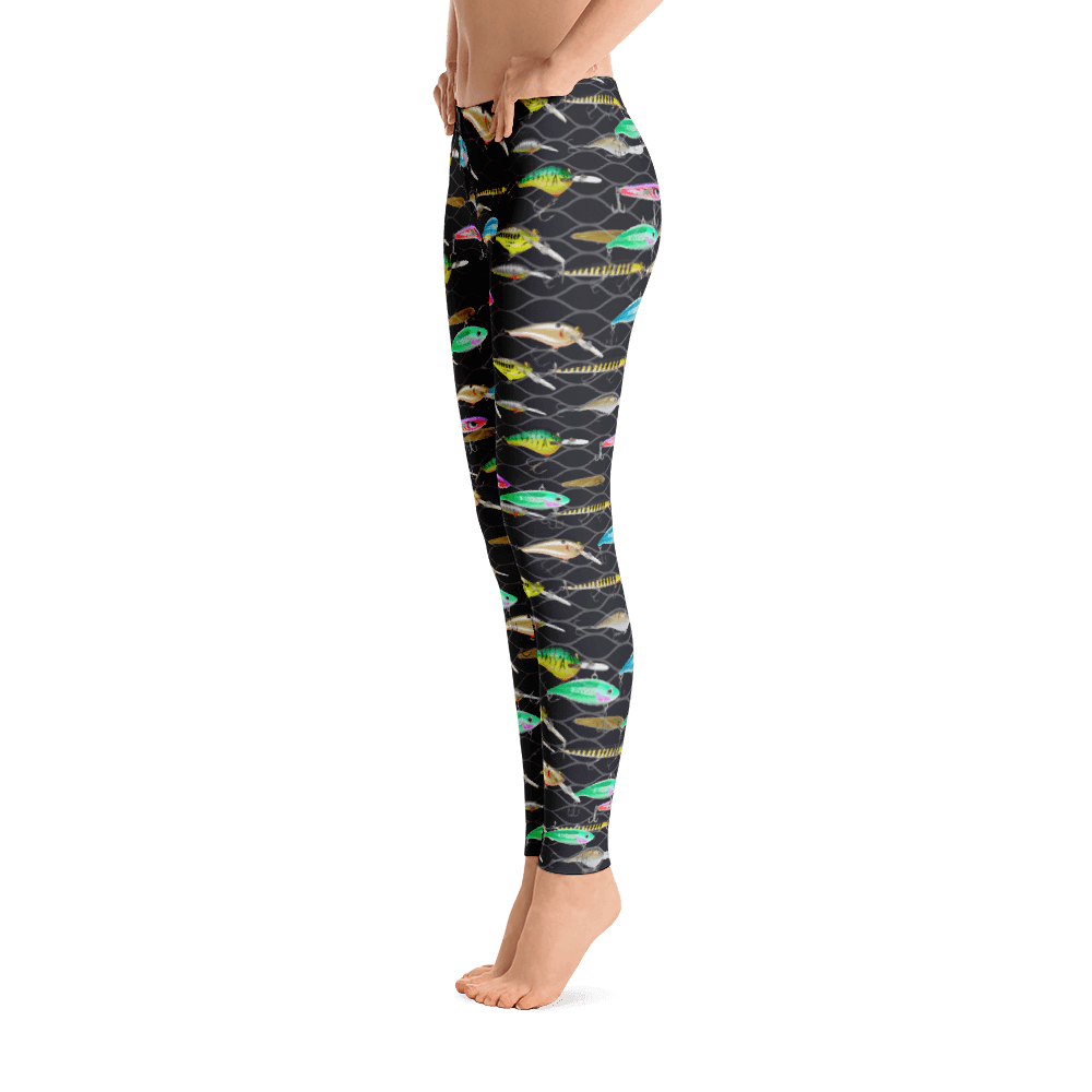 Fish Lure Performance Leggings - Bones Outfitters