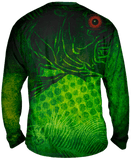 Red Eyes LargeMouth Bass Long Sleeve Big & Tall