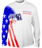 Youth Bass Stars & Stripes Long Sleeve