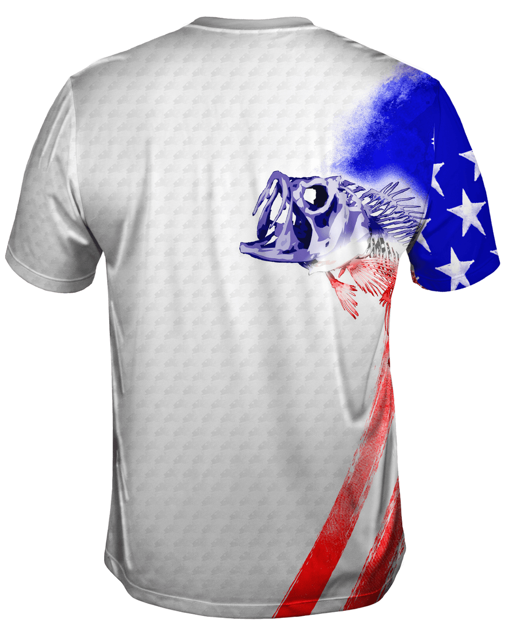 Bass Stars & Stripes Short Sleeve - Bones Outfitters