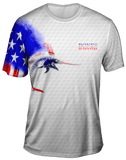 Billfish Stars & Stripes Short Sleeve Big & Tall - Bones Outfitters