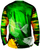 True Colors Peacock Bass Long Sleeve