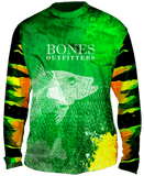 True Colors Peacock Bass Long Sleeve - Bones Outfitters