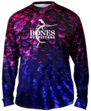 Youth Royal Scales Long Sleeve - Bones Outfitters