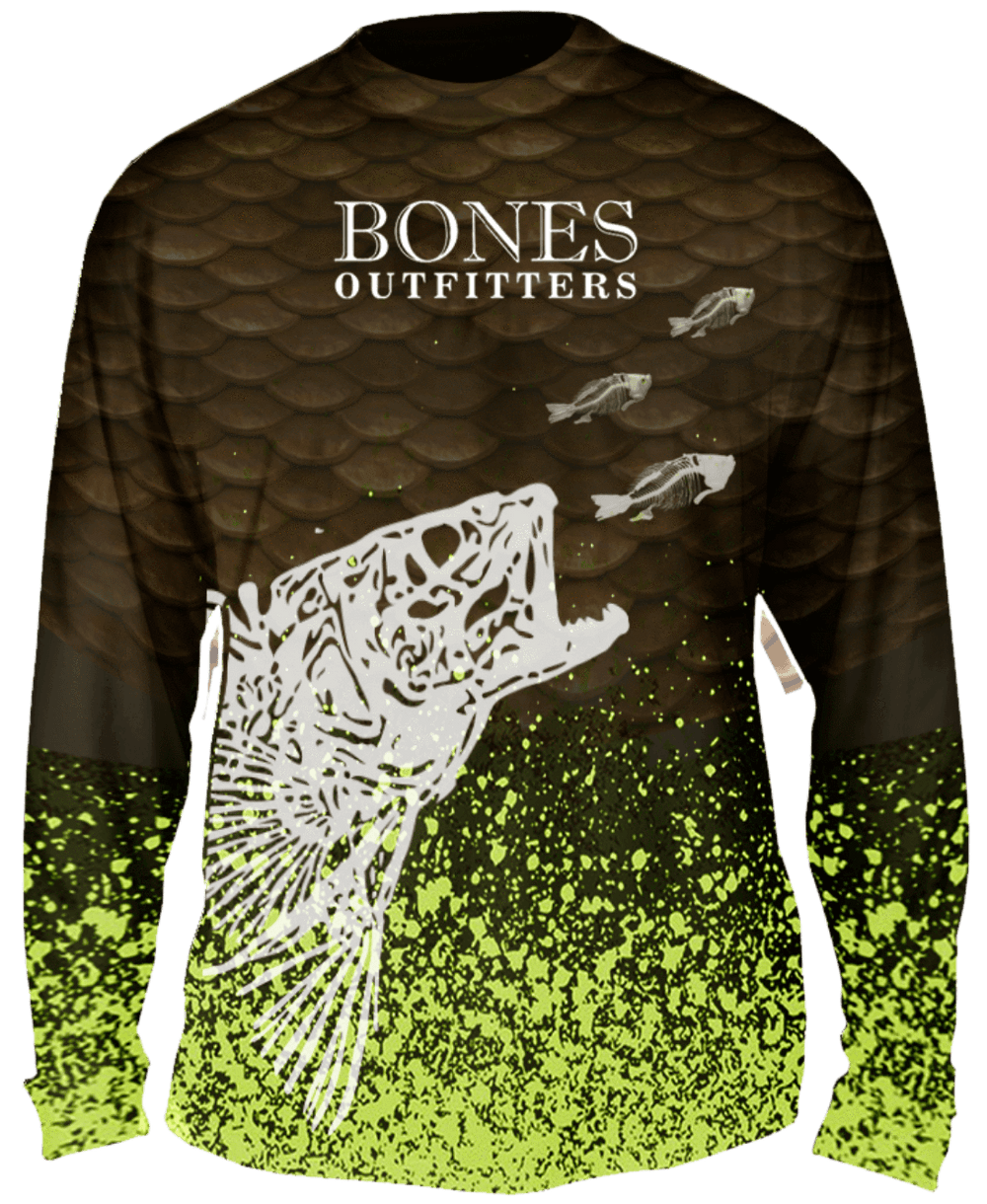 Jig For Walleye Long Sleeve - Bones Outfitters