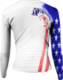 Womens Bass Stars & Stripes Long Sleeve - Bones Outfitters