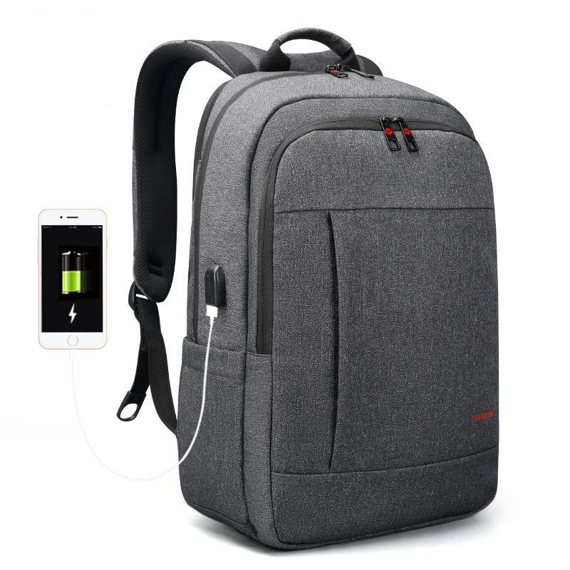 Anti-theft USB School Backpack