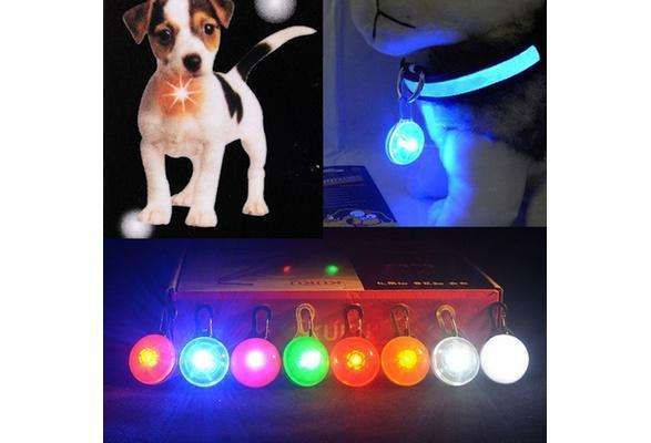 Flashing LED Dog Collar Pendant Light