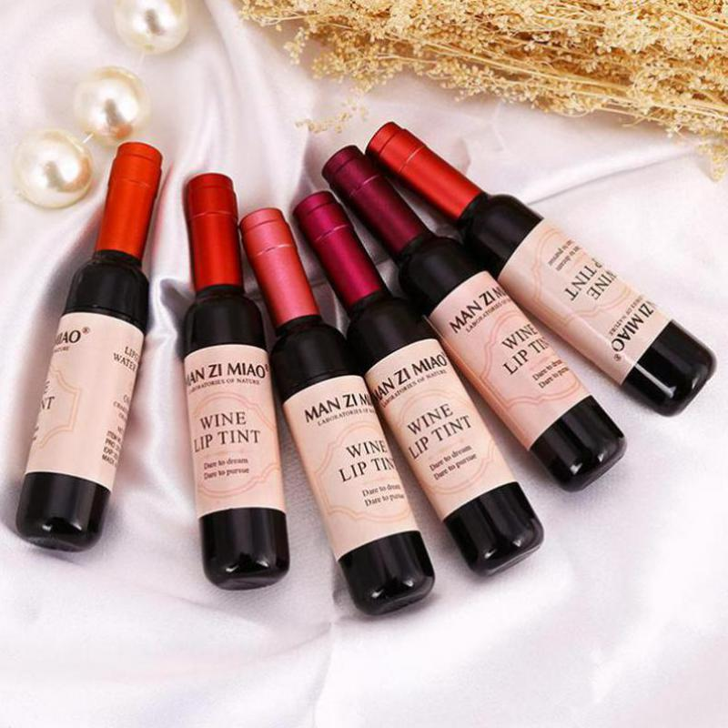 6 Piece Special - Red Wine Long Lasting Waterproof Lip Gloss
