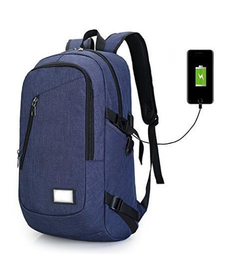 Laptop USB Charging School Backpack