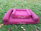 Personalized dog sofa / Large dog bed / Extra large dog bed / Jumbo dog bed / Small dog bed /Custom dog bed