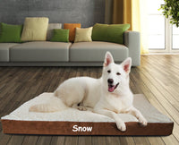 NEW SIZES! Personalized Orthopedic Dog bed / Pampered pet place / Large dog bed / Extra large dog bed