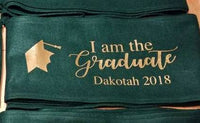Graduation sash for the family and friends of the graduate