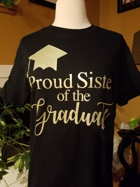e2f326629 ... Mother of the Graduate T-shirt / Graduation Shirts for Family and  Friends