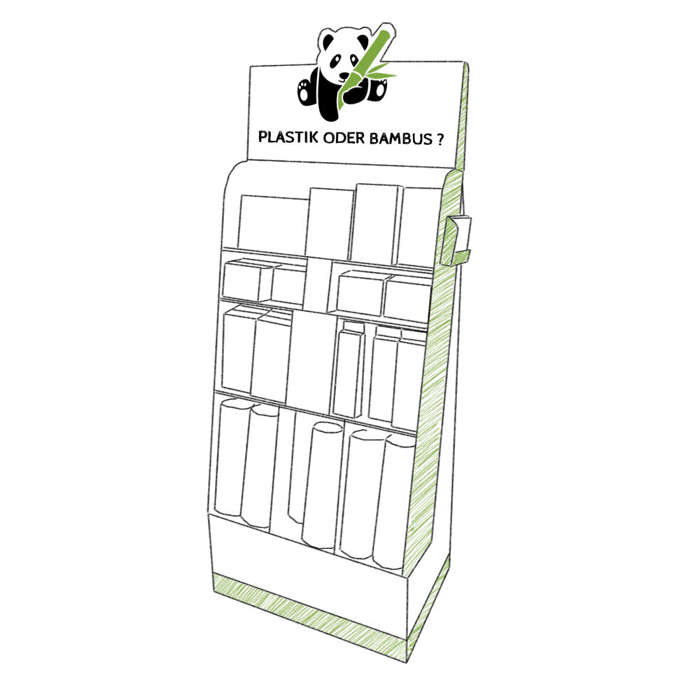 pandoo plastikfreies Display